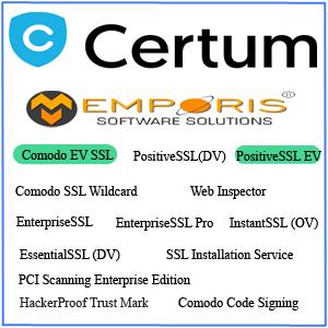 Certum SSL Certificates-Emporis Sofware Solutions