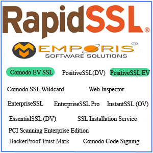 Rapid SSL Certificates-emporis software solutions